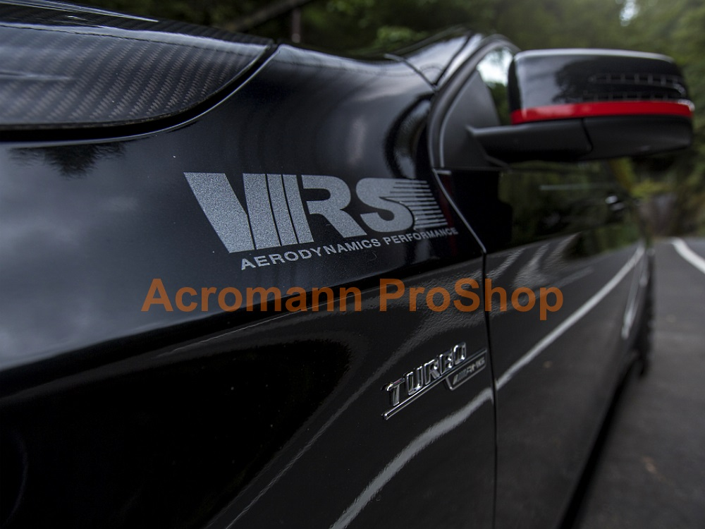 Varis VRS 6inch Decal x 2 pcs